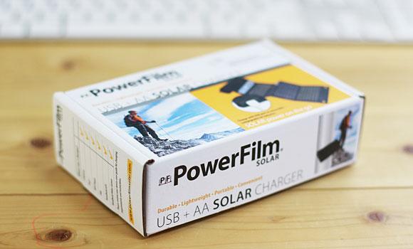 PowerFilm USB+AA Solar Charger width=
